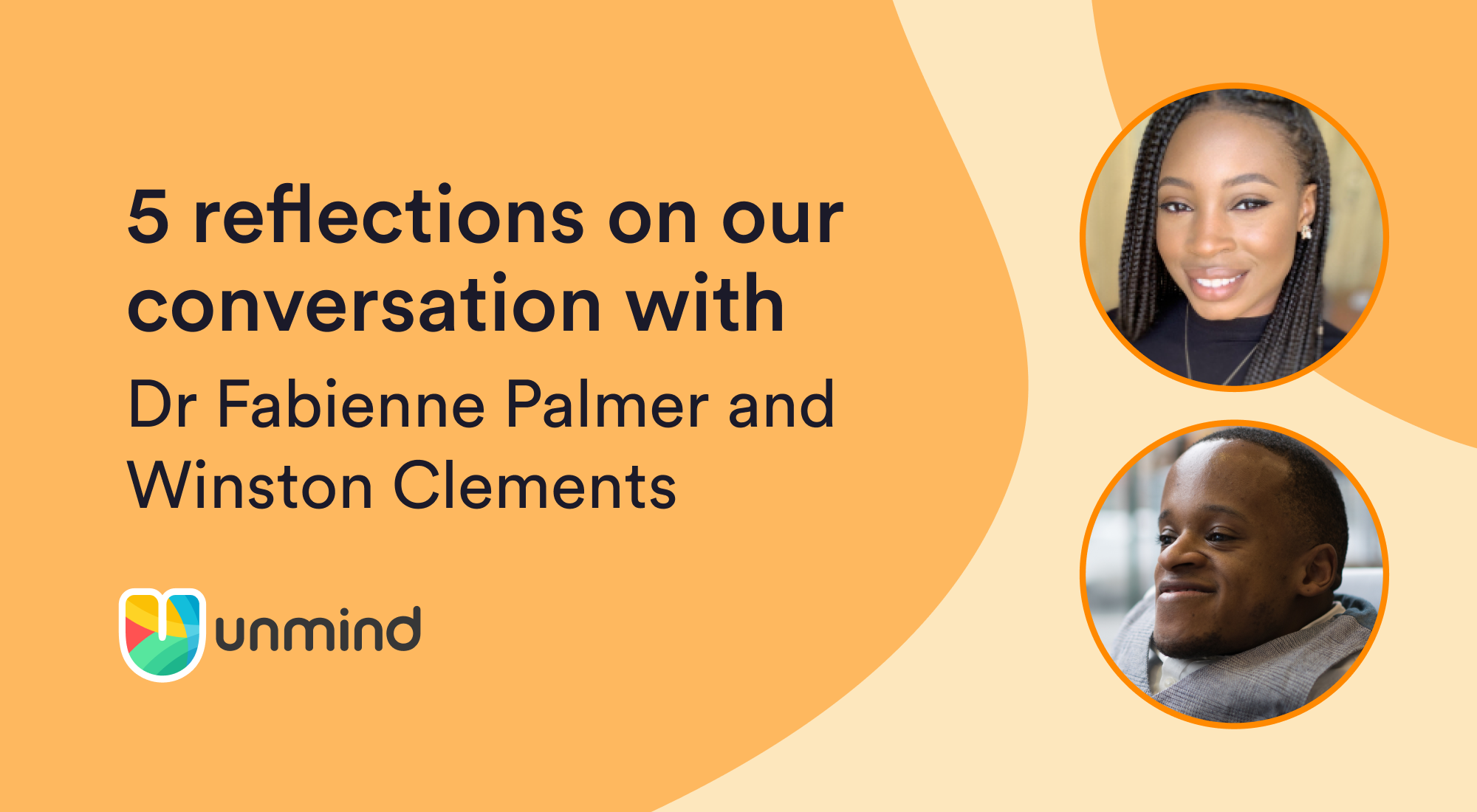 5 reflections on our conversation with Fabienne Palmer and Winston Clements