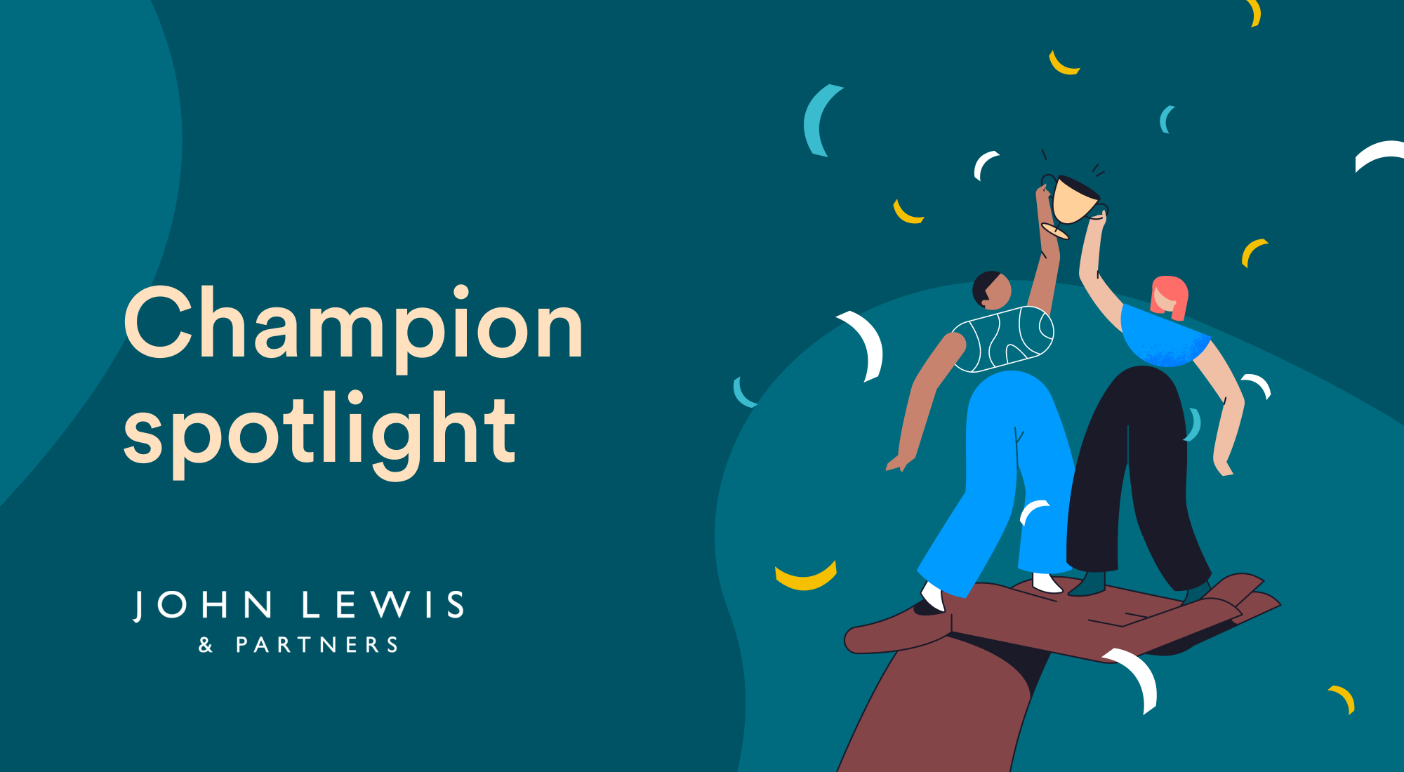 Champion spotlight: Vlogs, dogs and mental health with John Lewis Partnership