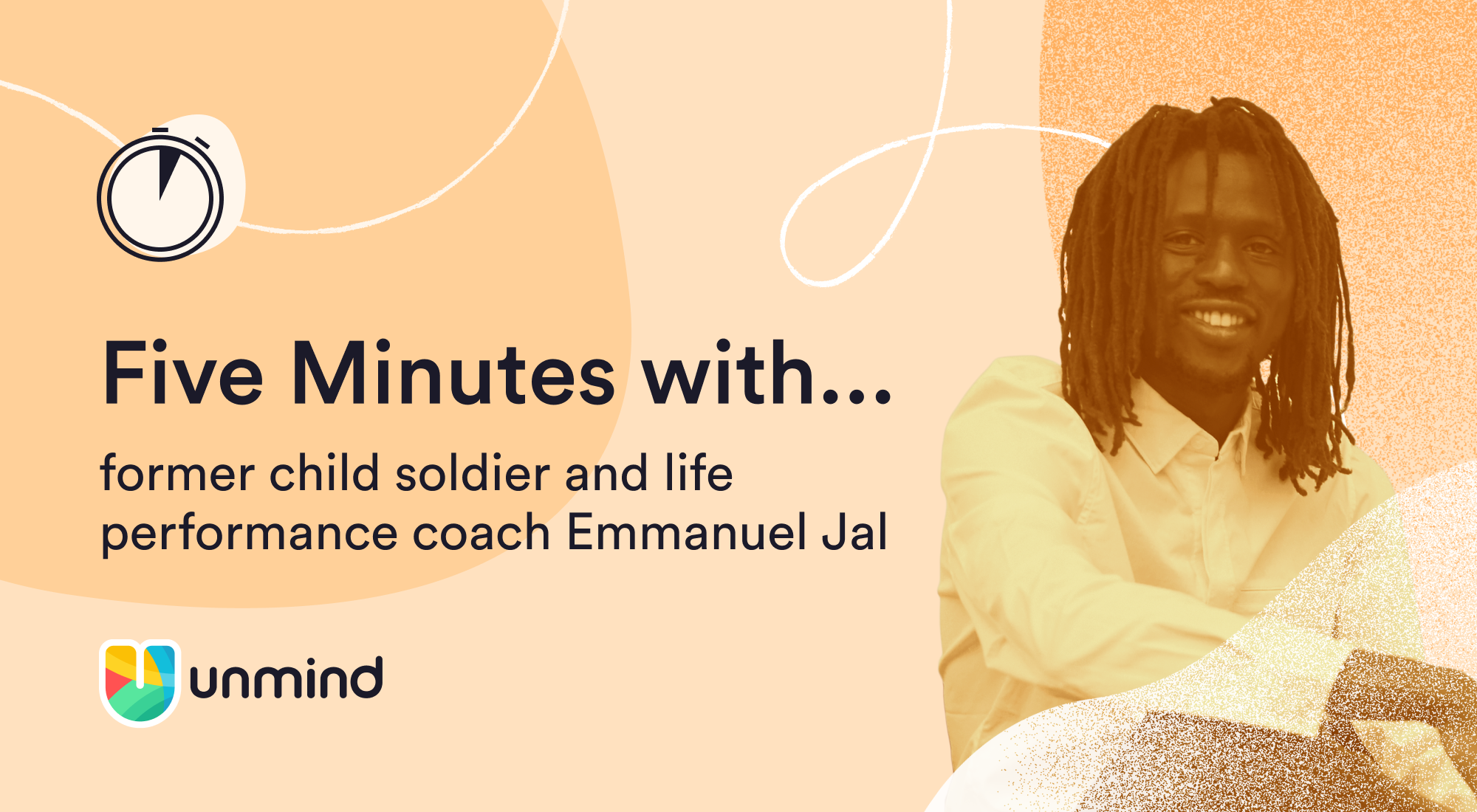 5 minutes with life performance coach Emmanuel Jal