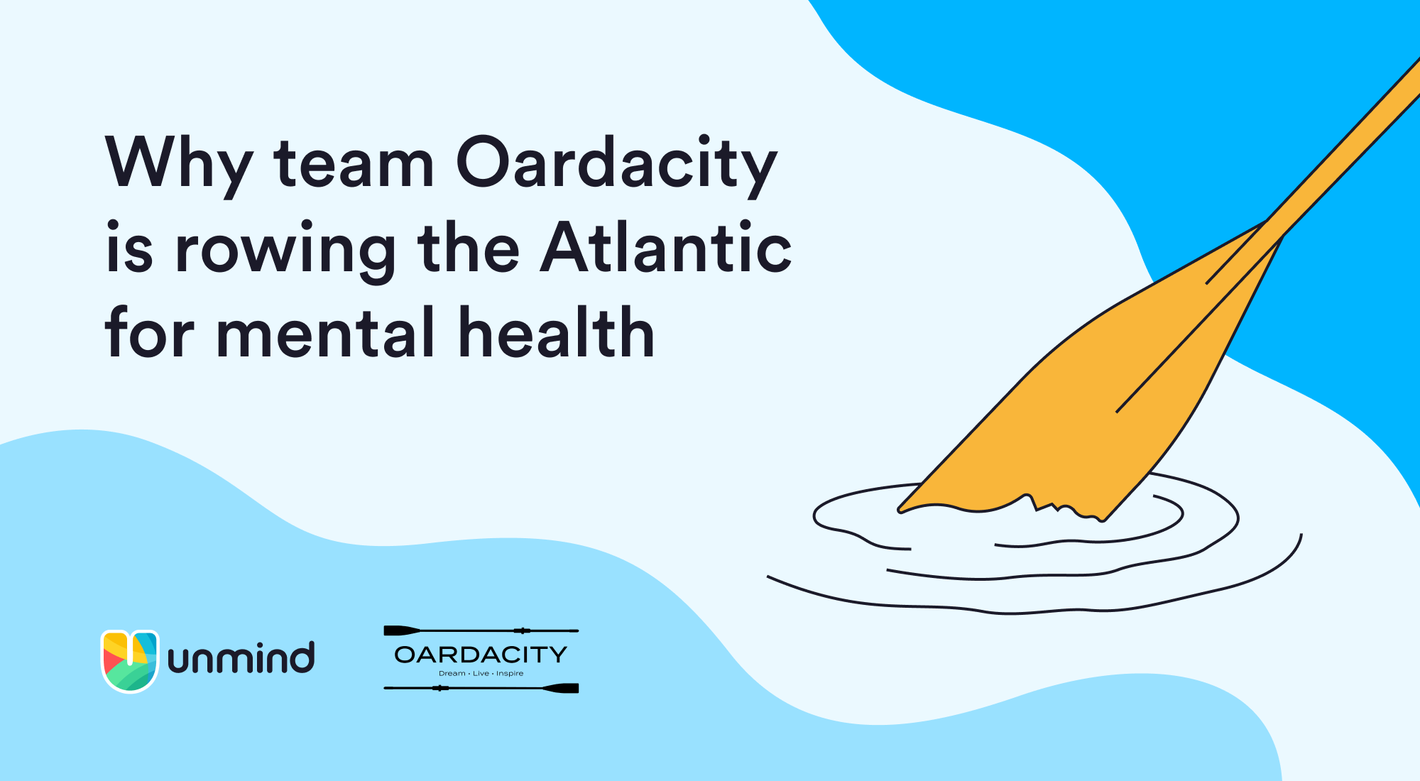 Why team Oardacity is rowing the Atlantic for mental health
