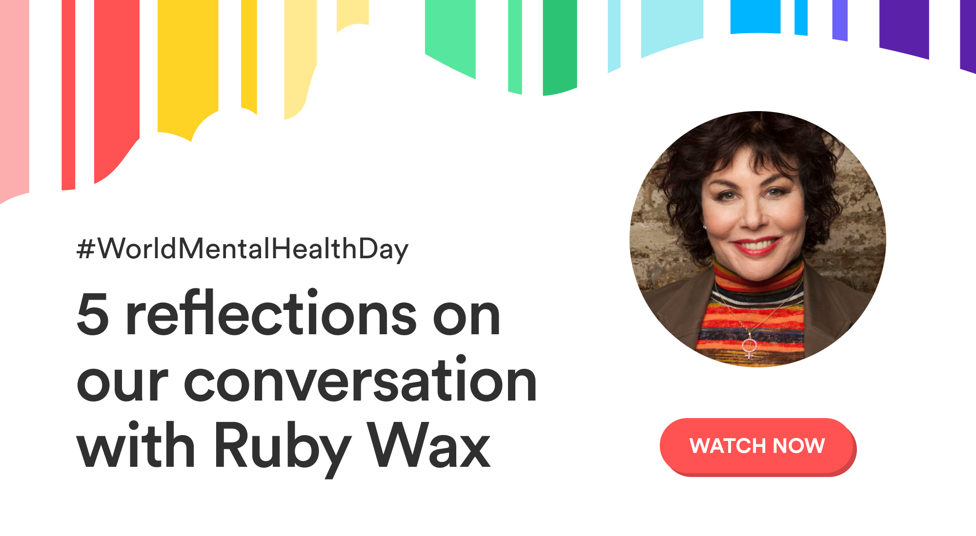 5 reflections on our conversation with Ruby Wax