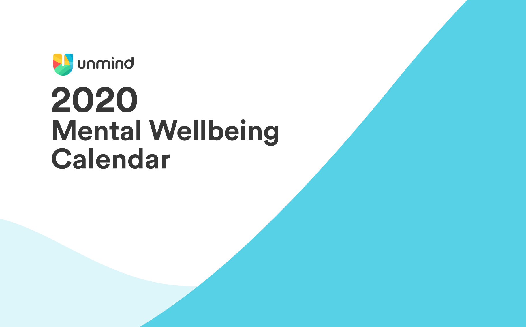 All of the key dates within the mental health and wellbeing calendar in 2020